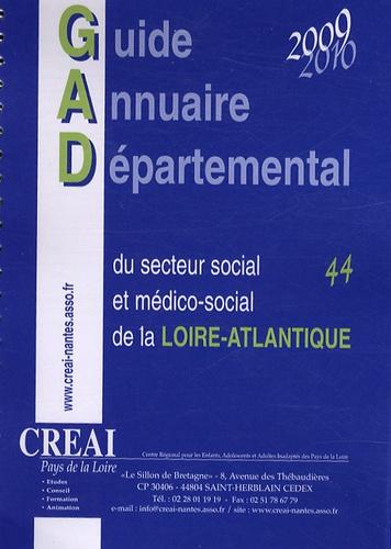 CREAI Pays de la Loire - Guide annuaire départemental du secteur social et médico-social de la Loire-Atlantique.