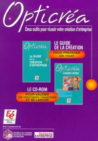 Entrepreneuriat Editions - Opticréa. - Livre + CD-Rom.