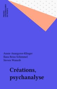 Steven Wainrib - Créations, psychanalyse.