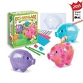 CREATIONS VERONIQUE DEBROISE - Coffret Popsine Les cochons dodus