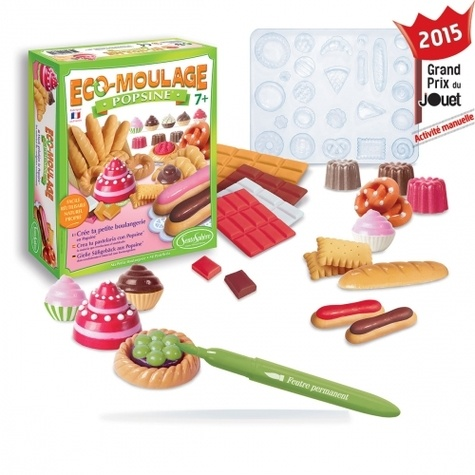 CREATIONS VERONIQUE DEBROISE - Coffret Popsine Ma petite boulangerie