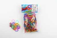 CREATIVE IMPORT - Rainbow Loom recharge élastiques multicolor jelly
