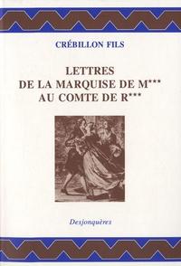 Ucareoutplacement.be Lettres de la Marquise de M au comte de R Image