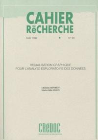 Christine Henriot et Marie-Odile Simon - Cahier de recherche N° 85, Mai 1996 : Visualisation graphique pour l'analyse exploratoire des données.