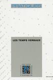 Marie-Noëlle Roubaud - Pratiques N° 100, Décembre 199 : Les temps verbaux.