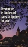 Cressard - Descendre le boulevard dans la lumière du soir.