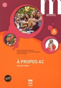 Galabria.be A propos A2 - Livre de l'élève Image