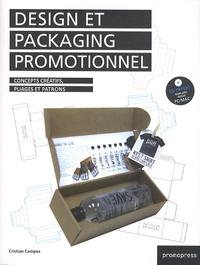 Cristian Campos - Design et packaging promotionnel - Concepts créatifs, pliages et patrons. 1 Cédérom