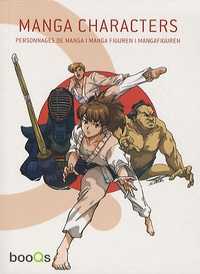 Cristian Campos - Manga characters - Personnages de manga.