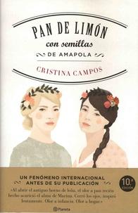 Cristina Campos - Pan de limón con semillas de amapola.