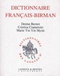 Cristina Cramerotti et Marie Yin Yin Myint - Dictionnaire français-birman.