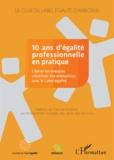 Cristina Lunghi - 10 ans d'égalité professionnelle en pratique - Libérer les énergies créatrices des entreprises avec le Label égalité.
