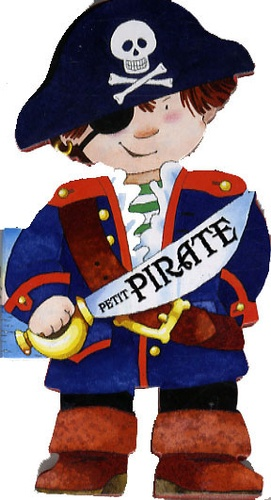 Cristina Mesturini - Petit pirate.