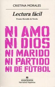 Cristina Morales - Lectura facil.