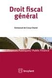 Crouy - chanel emmanuel De - Droit fiscal général.