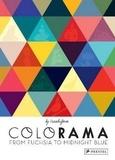 Cruschiform - Colorama from fuchsia to midnight blue.