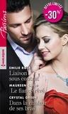 Crystal Green et Emilie Rose - Liaison sous contrat ; Le fiancé rêvé ; Dans la chaleur de ses bras.