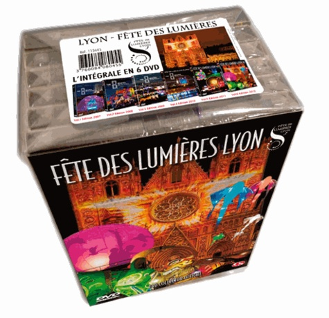 Lyon Fête des Lumières. L'Intégrale  6 DVD