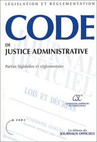Code de justice administrative - Edition 2002.pdf