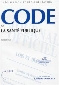 Code de la santé publique - 2 volumes, Textes mis à jour au 18 novembre 2003.pdf