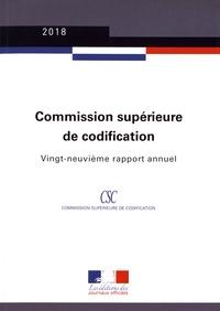 Commission supérieure de codification - Vingt-neuvième rapport annuel.pdf