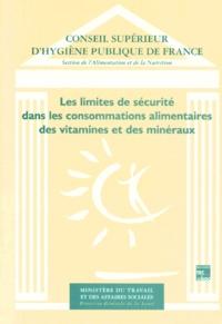 Les limites de sécurité dans les consommations alimentaires des vitamines et des minéraux.pdf