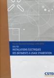CSTB - Installations électriques des bâtiments à usage d'habitation - DTU 70.1.