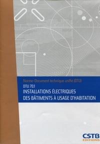 Installations électriques des bâtiments à usage dhabitation - DTU 70.1.pdf