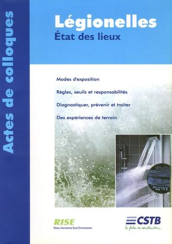 CSTB - Légionelles - Etat des lieux.
