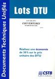 CSTB - Lot de DTU Couvertures en tuiles de terre cuite.