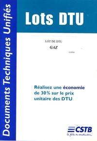 CSTB - Lot de DTU Gaz.