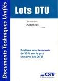 CSTB - Lot de DTU Parquets.