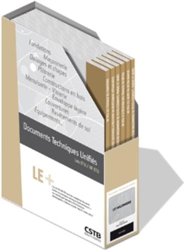 CSTB - Lot DTU Revêtements de sol - 4 volumes : 52.10 + 53.1 + 53.2 + 54.1.
