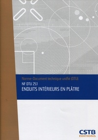 Accentsonline.fr NF DTU 25.1 Enduits intérieurs en plâtre. Nouvelle formule Image