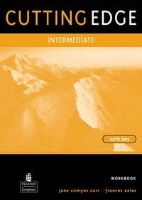 Cunningham - Cutting edge intermediate workbook with key - Intermediate level.