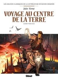 Curd Ridel - Voyage au centre de la terre en BD.