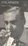 Curzio Malaparte - Opere scelte.
