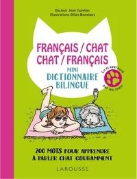 Deedr.fr Français/chat-chat/français - Mini-dictionnaire bilingue - 220 mots pour apprendre à parler chat couramment Image