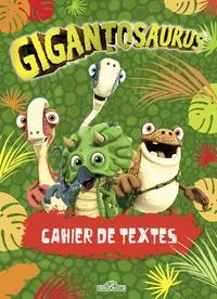 Cyber Group Studios - Cahier de textes Gigantosaurus.