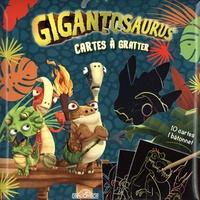 Cyber Group Studios - Cartes à gratter Gigantosaurus - 10 cartes, 1 bâtonnet.