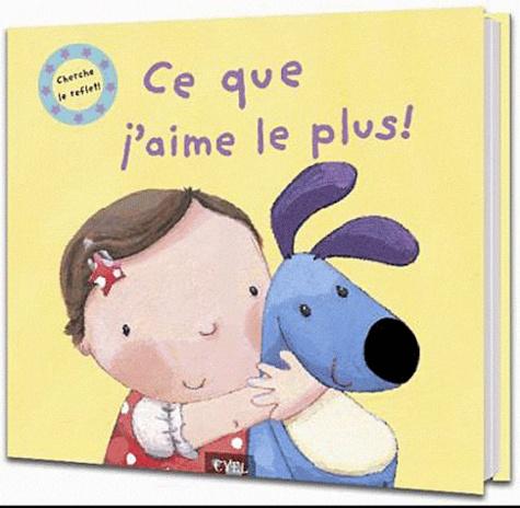 Cyel Editions - Ce que j'aime le plus ! - Cherche le reflet !.