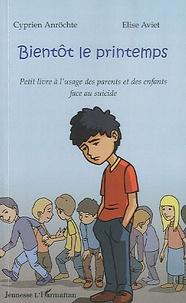 Deedr.fr Bientôt le printemps - Petit livre à l'usage des parents et des enfants face au suicide Image