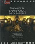 Cyprien Henry et Joëlle Quaghebeur - Cartulaire de Sainte-Croix de Quimperlé.