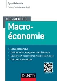 Cyriac Guillaumin - Aide-mémoire - Macroéconomie.