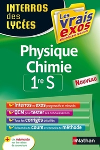 Cyriaque Cholet - Physique Chimie 1re S.