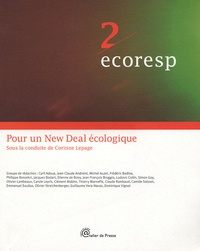 Cyril Adoue - Pour un New Deal écologique.