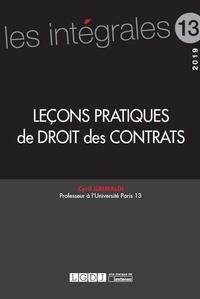 Cyril Grimaldi - Leçons pratiques de droit des contrats.