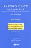 Cyril Morana - De la recherche de la vérité - Livre 2, Parties 2 et 3.