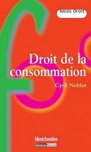 Cyril Noblot - Droit de la consommation.
