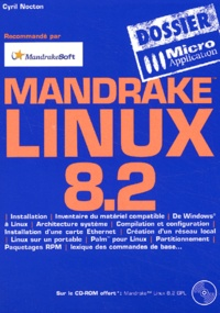 Galabria.be Mandrake Linux 8.2. Avec CD-ROM Image